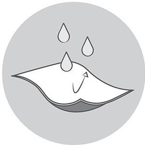 uvex Outdoorbekleidung Wassersäule