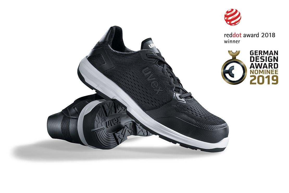 German Design Award uvex safety shoes