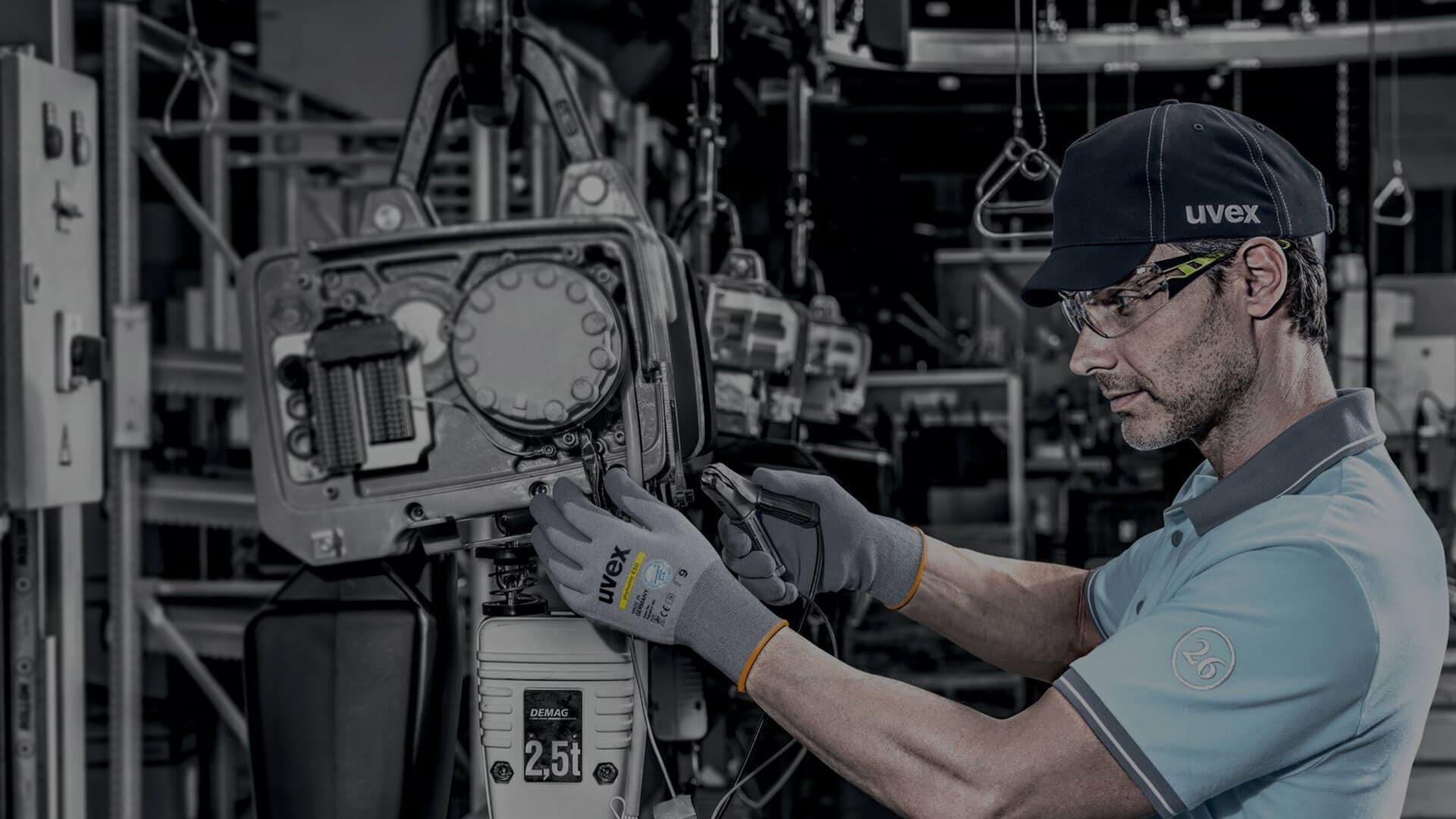 Arbeitsschutz-Produkte für Montage und Mechanik von Autos