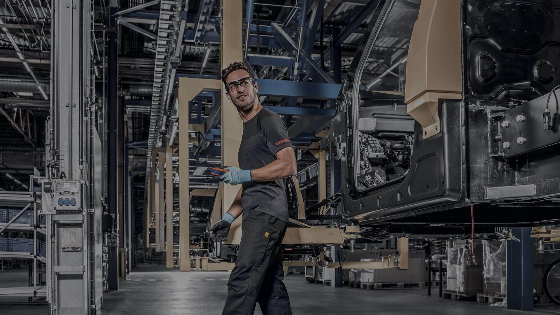 uvex PSA-Produkte Karosserie & Metallverarbeitung