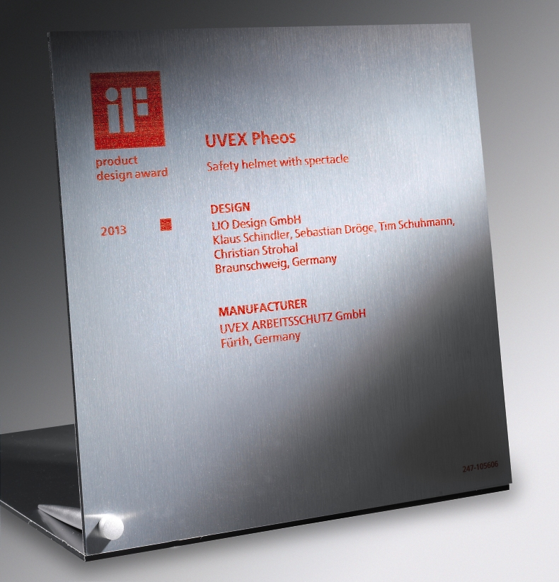 iF Product Design Award 2013 for uvex pheos
