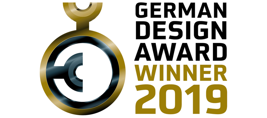 Awarded design and functionality: German Design Award Winner 2019