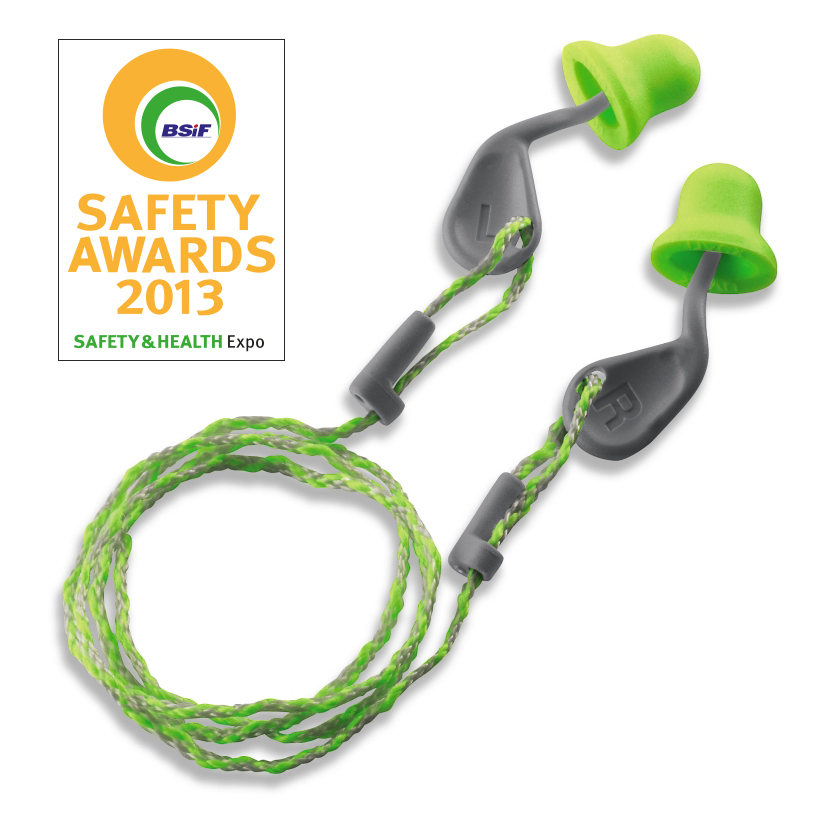 BSIF Safety Award 2013 for uvex xact-fit