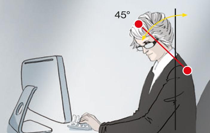 uvex Bildschirmbrillen mit Einstärkengläser