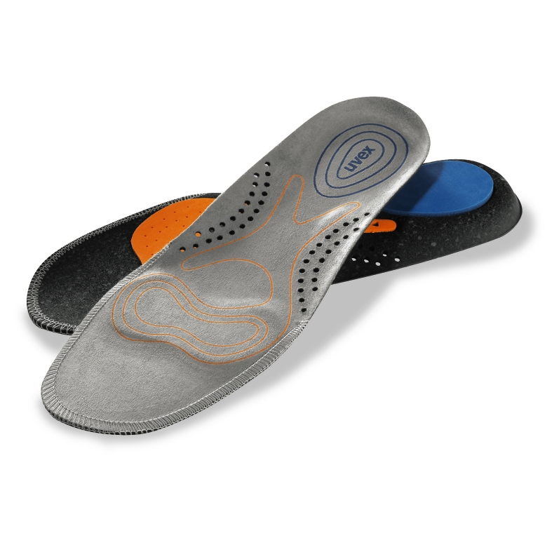 uvex 3D hydroflex® foam insole top and underneath