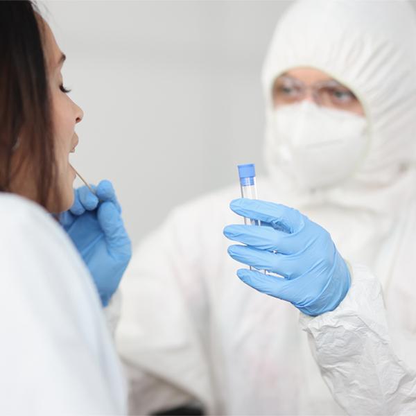 Infektionskrankheiten Entnahme einer Probe