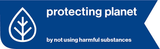 protecting planet by not using harmful substances