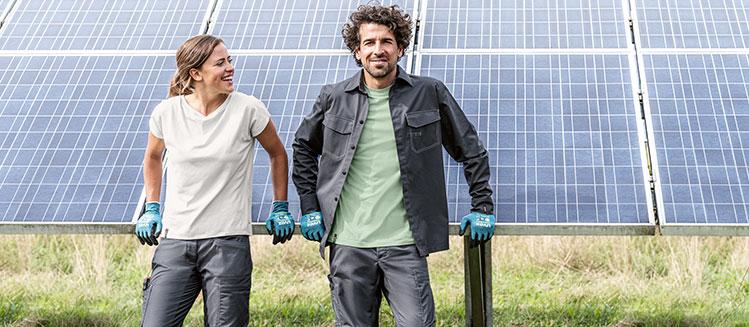 nachhaltige Arbeitskleidung von uvex