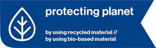 Schutzbrille aus recycleten Materialien
