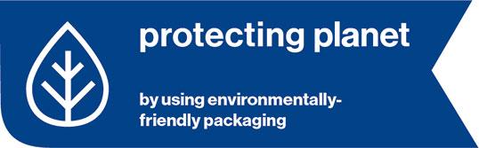 Schutzbrille mit umweltfreundlicher Verpackung