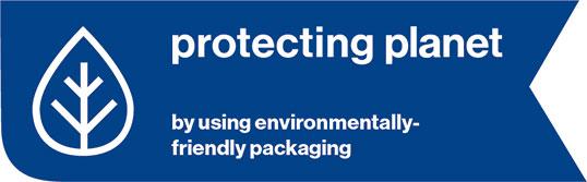 Schutzhelm mit umweltfreundlicher Verpackung