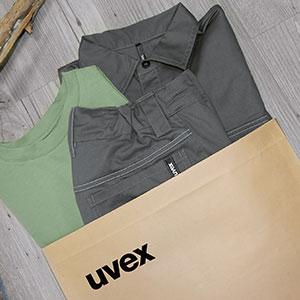 Schutzkleidung mit umweltfreundlicher Verpackung