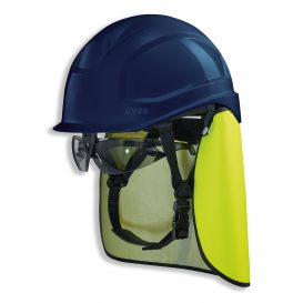 uvex pheos S-KR védősisak (készlet szemüveggel)