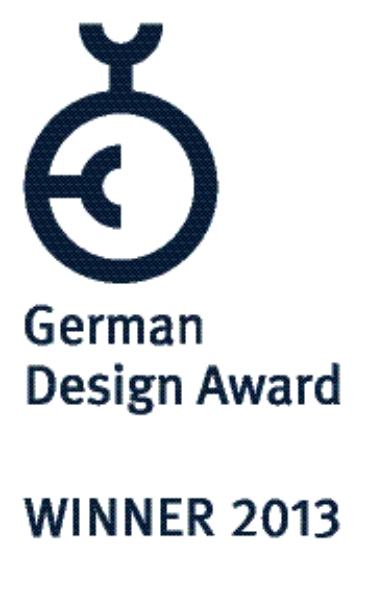 Ganador del German Design Award 2013