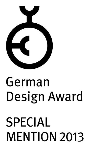 German Design Award Mention Spéciale 2013