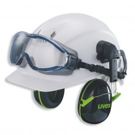 uvex ultrasonic wide-vision goggle (in combination with helmet)