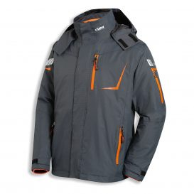3-in-1-Wetterjacke uvex metal