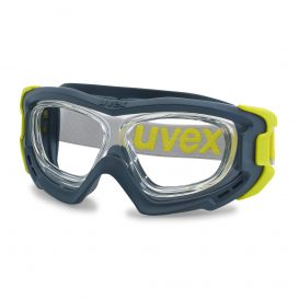 uvex RX goggle safety goggles with direct vision correction