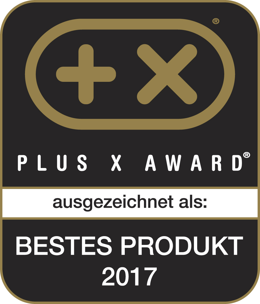 Plus X Award – Bestes Produkt 2017