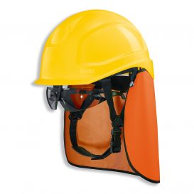 Safety helmet uvex pheos S-KR (set with glasses)
