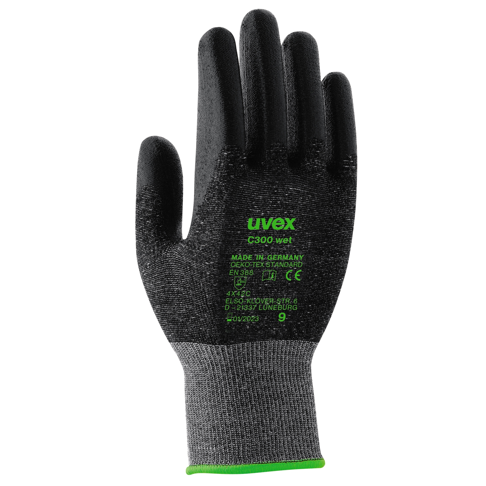 Arbeitshandschuh Wet Grip 9-10 Arbeitshandschuhe Handschuhe Handschutz