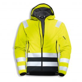 uvex protection flash + storm softshell jacket