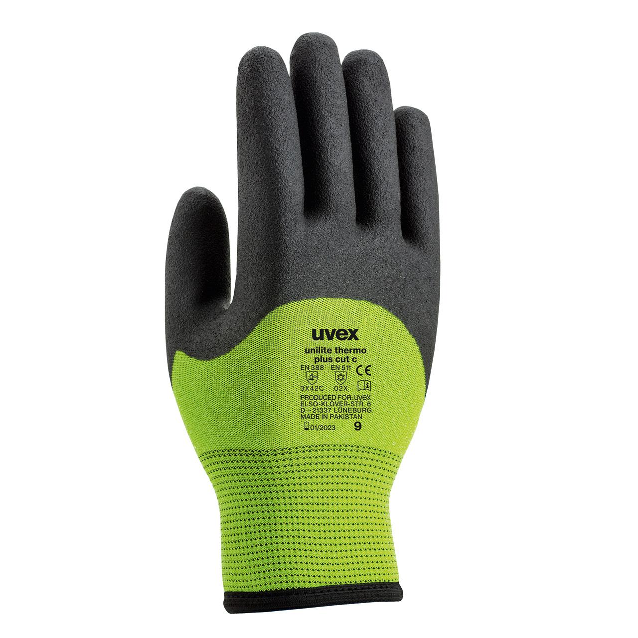 Bootsport Neopren Handschuhe UVEX Größe S