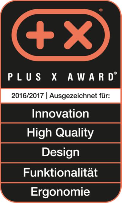 Plus X Award 2016/2017