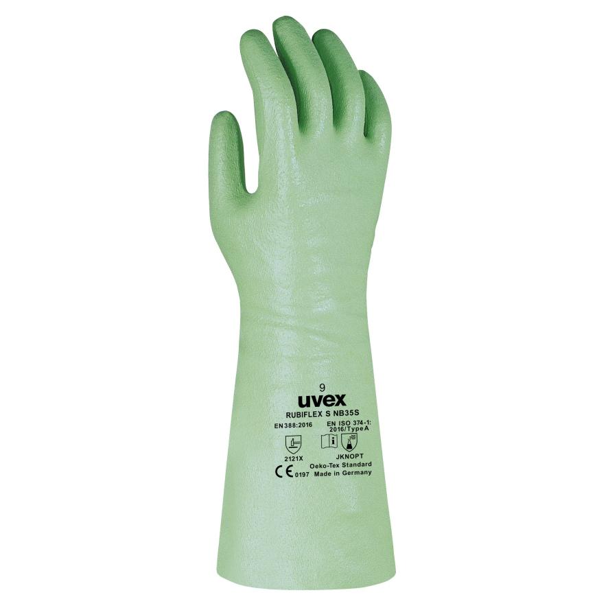 Business & Industrie Arbeitskleidung & -schutz 9 Paar Uvex Profastrong Nf 33 Chemikalienschutzhandschuhe