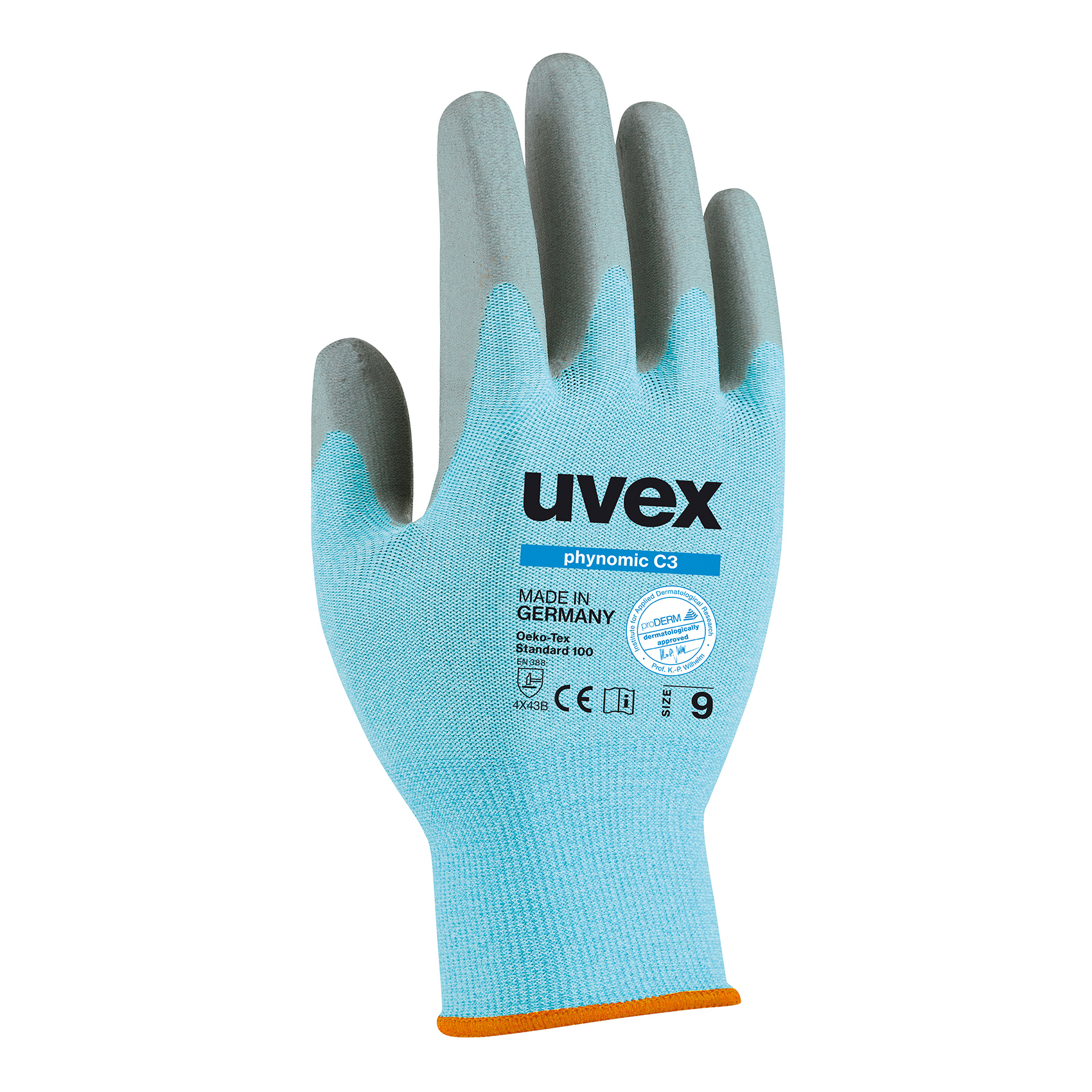 Uvex Phynomic C3 Cut Protection Glove Safety Gloves