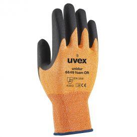 uvex unidur 6649 foam OR safety glove