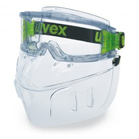 uvex ultravision wide-vision goggle with face protection