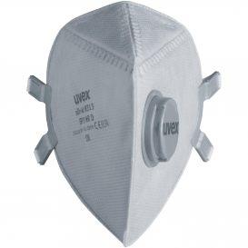 Masque pliable de protection respiratoire FFP3 uvex silv-Air p8313