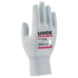 Guantes de protección higiénica uvex phynomic silv-air grip