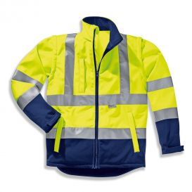 Softshell-Jacke uvex protection flash