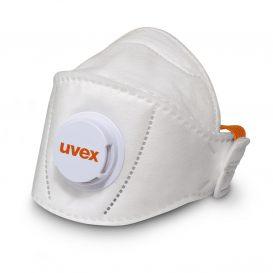 Masque pliable respiratoire FFP2 uvex silv-Air5210+ premium