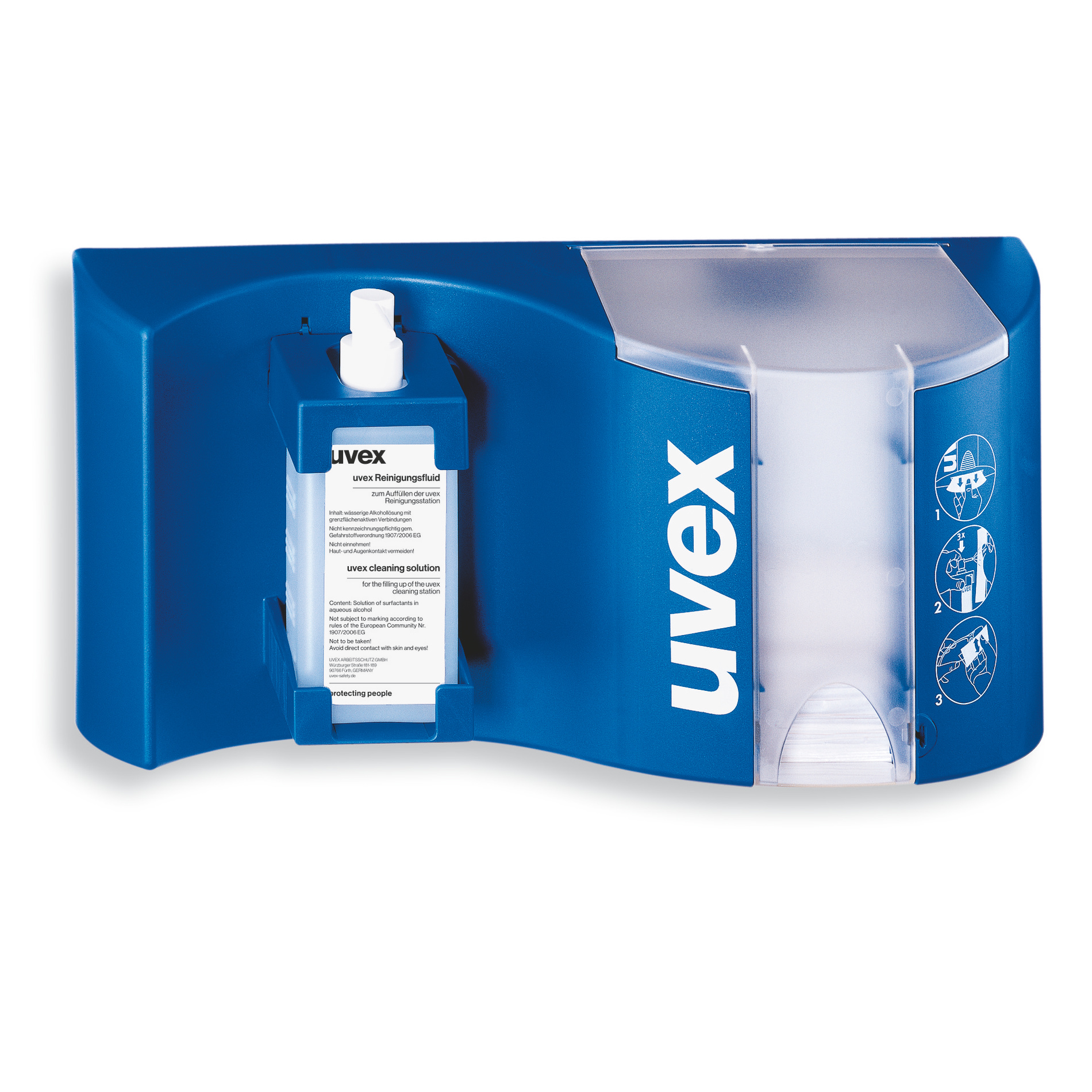 Uvex Spectacle Cleaning Station Safety Glasses Uvex Safety