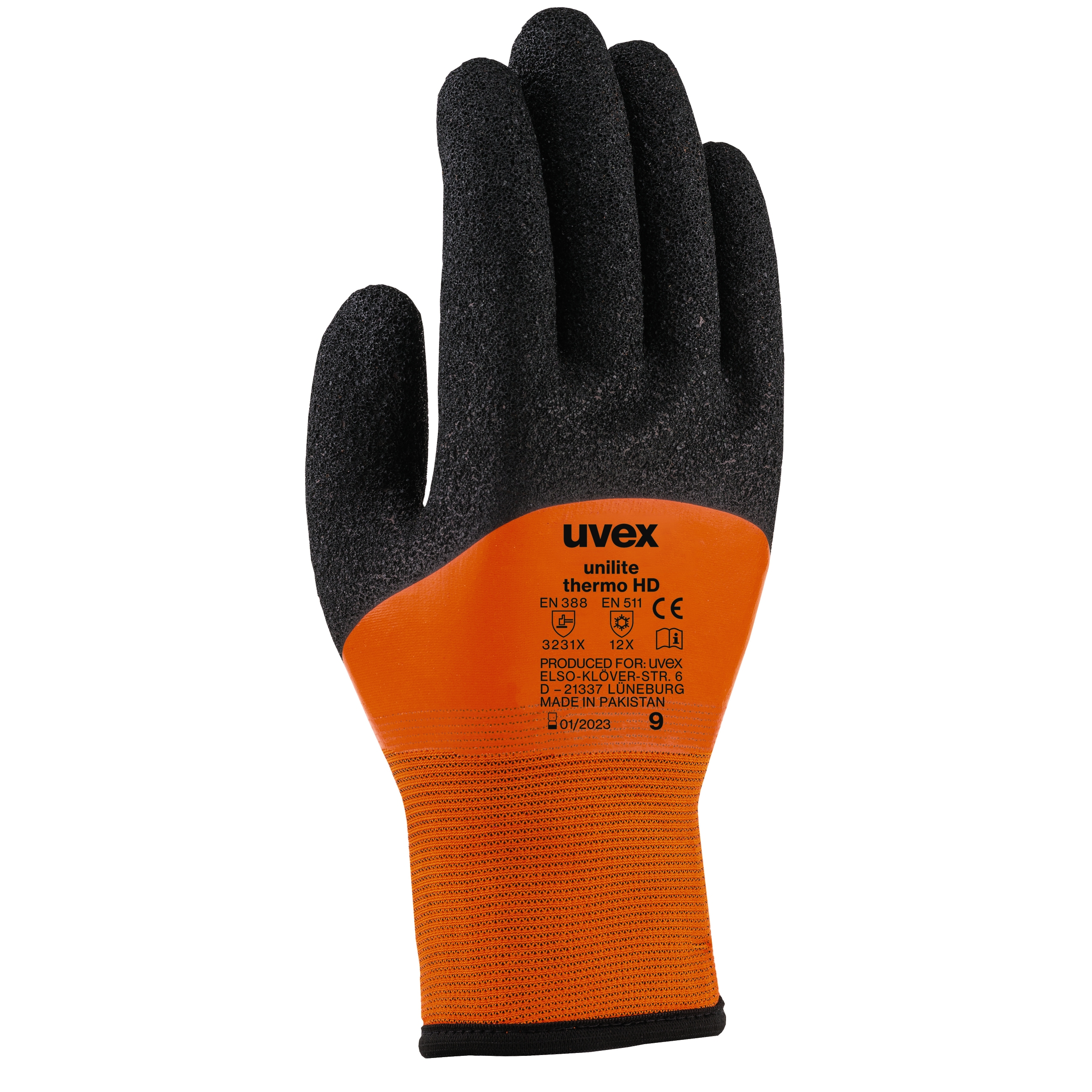 UVEX Unilite Work Wear Safety Cold Condition Thermo Glove Size 07