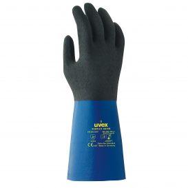 uvex rubiflex S XG35B chemical protection glove