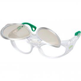 Dioptrické ochranné brýle uvex RX cd 5505 flip-up CBR65